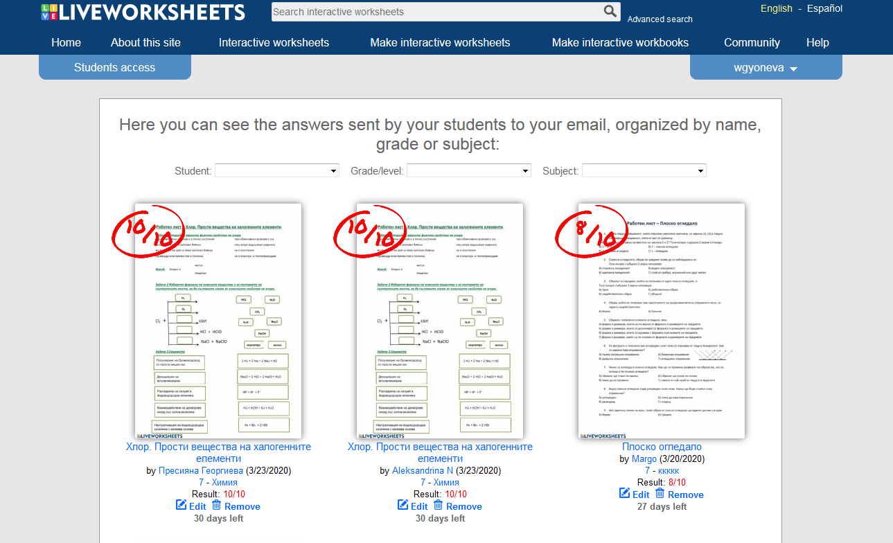 Screenshot 2020 03 23 Live Worksheets